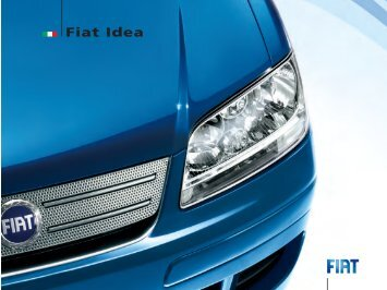 Fiat Idea - Grand Ouest Automobile