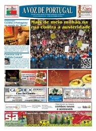 mais de meio milhão na rua contra a austeridade - A Voz de Portugal