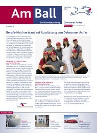 AmBall November 2007 (pdf/908.30KB) - Debrunner Acifer