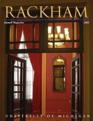 Rackham Alumni Magazine 9-13-04 (Page 1) - Rackham Graduate ...