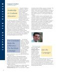Rackham Alumni Magazine 9-13-04 (Page 1) - Rackham Graduate ... - Page 6