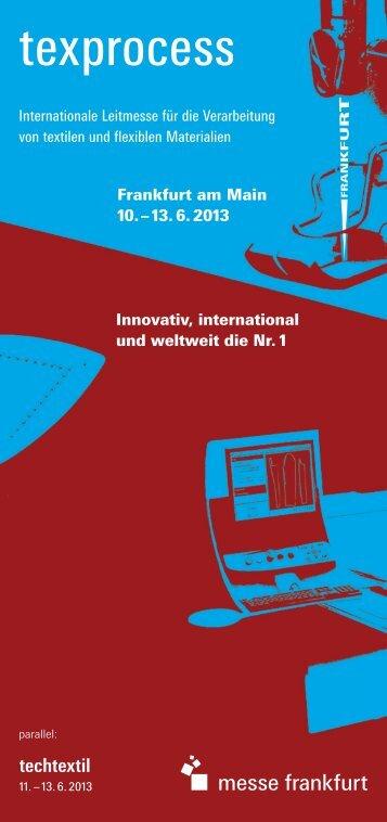 Innovativ, international und weltweit die Nr. 1 Frankfurt ... - messelogo