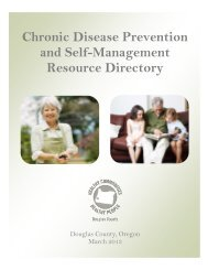 Chronic Disease Prevention and Self-Management Resources