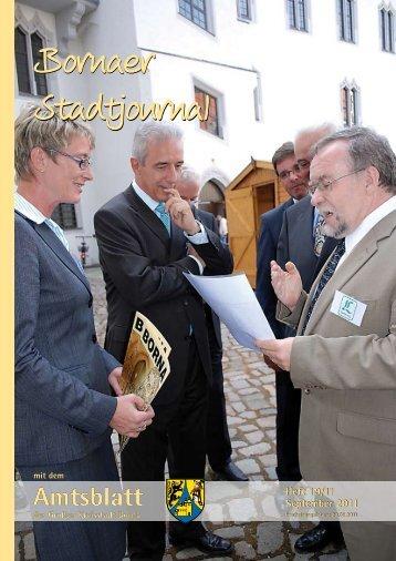 Amtsblatt der Großen Kreisstadt Borna 19/11 - Druckhaus Borna