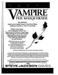 GURPS - Vampire the - Index of - Page 2