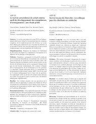 PDF (399.9 KB) - Pédagogie médicale