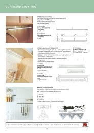 Roco Fittings Catalogue 10 Lighting Chapter