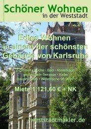 Edles Wohnen in einem der schönsten Gebäude von Karlsruhe ...