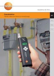 Gasdetektor - Nordtec Instrument AB