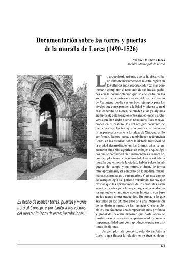 VER - Amigos del Museo Arqueológico de Lorca