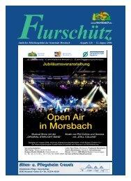126. Ausgabe vom 12.08.2006 - Gemeinde Morsbach