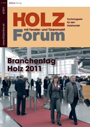 Ausstellerverzeichnis - HOLZonline ist die Branchenplattform für den ...
