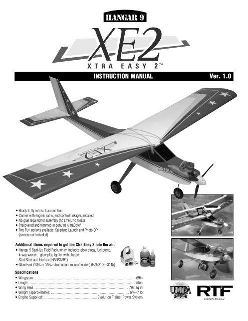 Xtra Easy 2 - Hangar 9