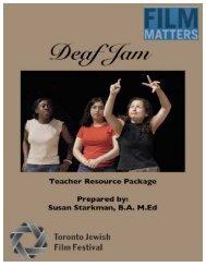 Deaf Jam - Toronto Jewish Film Festival