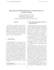 Improving the KMP Algorithm by Using Properties of Fibonacci String