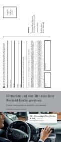 Urlaubzeit. Reisezeit. - Mercedes Benz - Seite 7