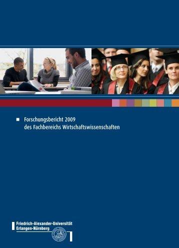 Forschungsbericht 2009 - am Fachbereich ...