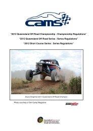 """2012 Queensland Off Road Championship : Championship ..."