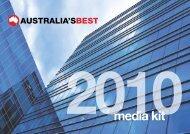media kit - Australia's Best Magazines