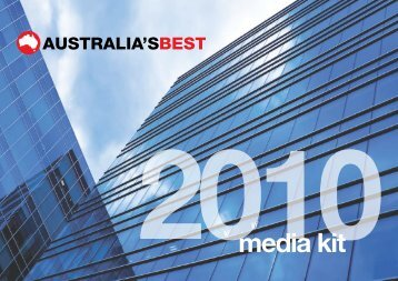 media kit - Australia's Best Magazines