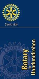 Angebote für junge Menschen - Rotary Distrikt 1820