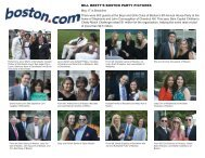 BILL BRETT'S BOSTON PARTY PICTURES - Boys and Girls Club of ...