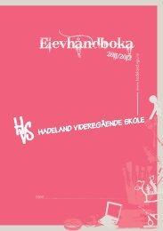 www .hadeland .vgs.no navn - Videregående skoler