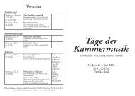 19:30 Uhr - Robert Schumann Hochschule Düsseldorf