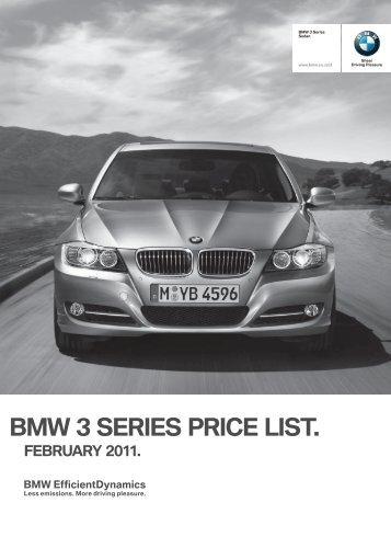 FPP4009 E90 Feb2011.indd - BMW