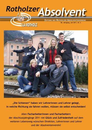 Absolvent - LLA Rotholz