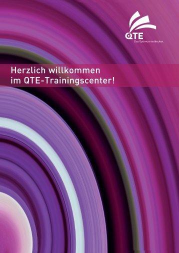 Herzlich willkommen im QTE-Trainingscenter! - on/off group