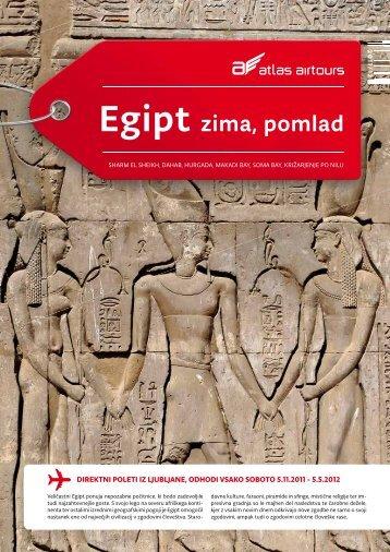 Egipt zima, pomlad - Kompas
