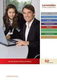 Broschüre Lernmedien - Inhalte