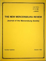 THE NEW RCERSBURG REVIEW - DSpace