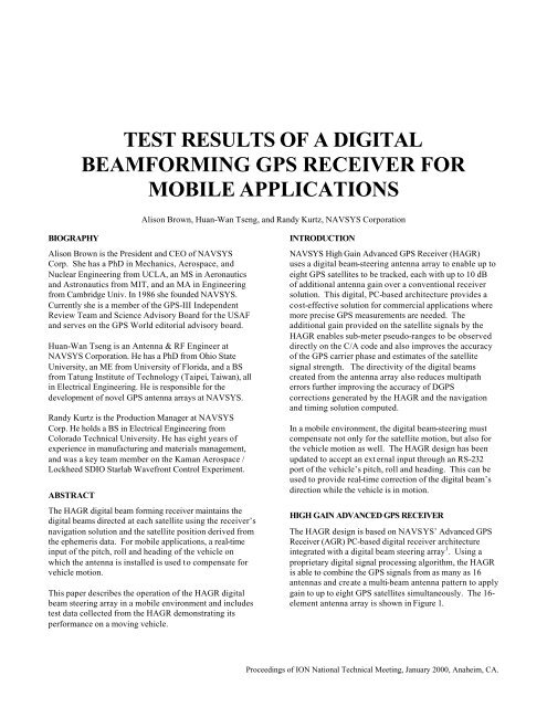 0001003 test results of a digital beamforming gps receiver…