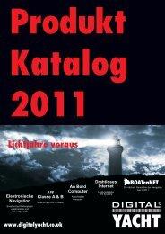Produkt Katalog 2011 - clown-versand bootszubehör