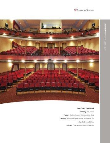 Case Study Highlights Ca s e Stu d y McPherson ... - American Seating