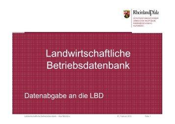 Landwirtschaftliche Betriebsdatenbank