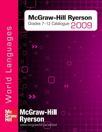 World Languages - McGraw-Hill Ryerson