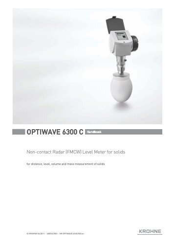 krohne optiwave 6300 c radar level meter manual pdf instrumart?compression\=80 optiflux 4000 manual krohne optiflux 4000 wiring diagram at soozxer.org