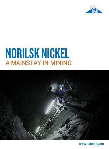 A mAinstAy in mining