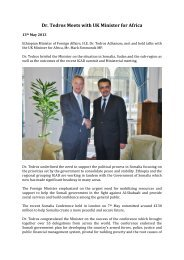 Dr. Tedros Meets with UK Minister for Africa