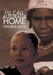I'll Call Australia Home Teachers Notes
