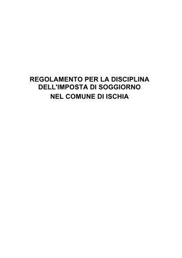 Allegato A Regolamento sul contributo di soggiorno nella ... - Roma