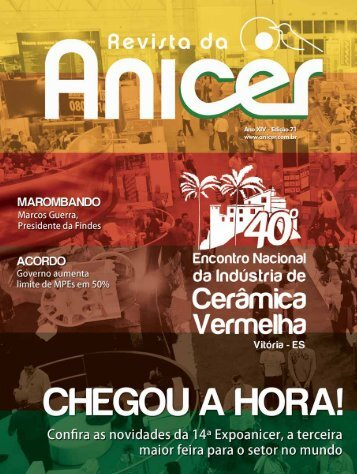 Faça o download do pdf da Revista 71 aqui - Anicer