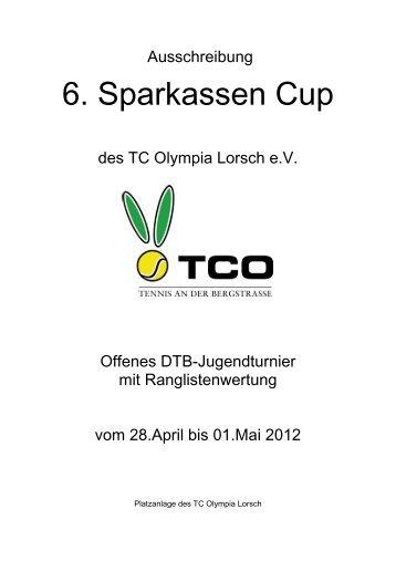 6. Sparkassen Cup - TCO Lorsch