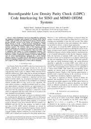 (LDPC) Code Interleaving - Markus Mu(e)ck's Home Page - Free