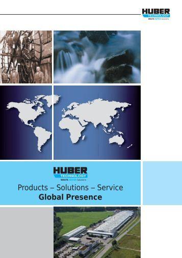Company Profile Brochure - Hans Huber AG