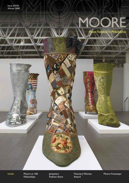 Moore Footsteps In Philadelphia Moore College Of Art And Design