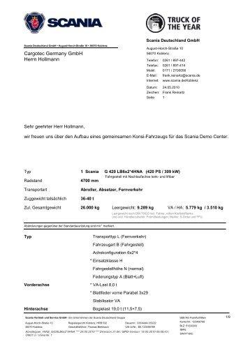 Cargotec Germany GmbH Herrn Hollmann